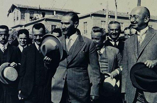 19. Şapka İnkılâbı öncesinde Atatürk ilk olarak şapkayı hangi ilimize olan bir gezisinde giymiştir?