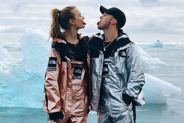 Предложение руки и сердца на фоне северного сияния: датская модель Жозефин Скривер выходит замуж
