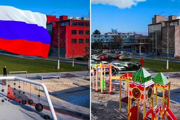 """А что если бы европейские города """"косили"""" под Россию? Фото, которые показывают, как бы это выглядело"""