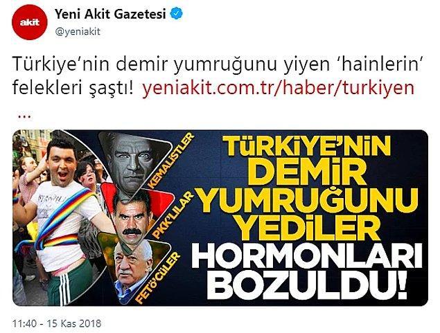 7. Saygısızlığı yeni bir iletişim yöntemi olarak kullanmaya başladık, Türkiye Cumhuriyeti'nin kurucusunu teröristlerle yan yana getirdik, milli hatıralarımıza bile sahip çıkamadık.
