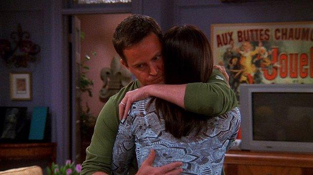 2. Monica ve Chandler'ın bebek sahibi olamayacaklarını öğrendikleri sahne.