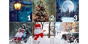 Тест: Выберите фото, с которым у вас ассоциируется декабрь, а мы предскажем, как может измениться ваша жизнь в этом месяце