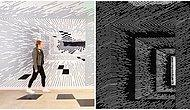 Genuine Mix Of Art And Mathematics: Optical Illusions Using Simple Lines By Los Angeles-Based Artist!