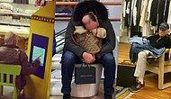 19 Hilarious Photos Prove That Men Are Destined To Wait On Shopping Wives!