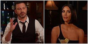 "Spill The Tea Kim Kardashian: 3 Ridiculous Questions On ""Jimmy Kimmel Live!"" Are Answered!"