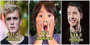 The Highest Paid YouTube Stars From 2018!
