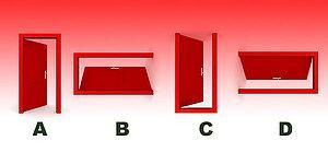 Тест: Какая дверь лишняя?