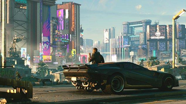 Cyberpunk 2077'de para karşılığı tehlikeli işler yapan bir kiralık asker ve bilgisayar korsanı olan V isimli karakteri yöneteceğiz.