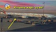 Her Gördüğünüze İnanmayın!  Paylaştığı Photoshoplu Pırlanta Uçak Fotoğrafı ile Herkesi Kandıran Kadın!