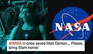 Marvel Fans Are Begging NASA To Save Tony Stark And They Get An Answer!