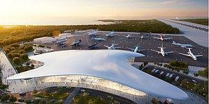 """Иллюзия полета: Итальянцы построят в Геленджике новый """"эко"""" аэропорт, который будет похож на птиц"""