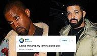 Round 2! Kanye West Attacks Drake On Twitter And Ariana Grande Throws Shade!