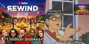 "Top 10 The Most Disliked Videos On YouTube And ""YouTube Rewind 2018"" Took The Crown!"
