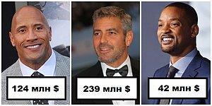 Зарубежные актеры, заработавшие больше всего денег в 2018 году