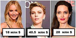Зарубежные актрисы, заработавшие больше всего денег в 2018 году