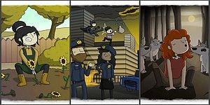Художник сделал забавные карикатуры пословиц со всего мира, и вот что из этого вышло