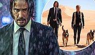 Появились первые кадры фильма «Джон Уик 3»: Киану Ривз и Хэлли Берри гуляют по пустыни
