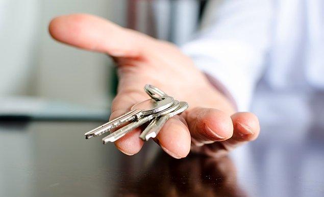 7. Anahtarlarınızı bulamamanızın bir nedeni var.