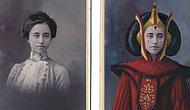 Бэтмен и Чудо-женщина 1870 года: Художник превращает винтажные портреты в героев поп-культуры