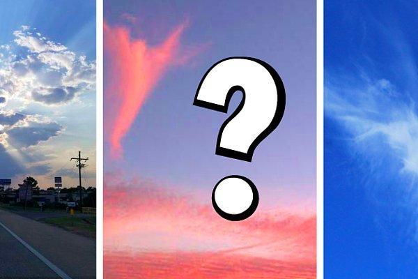 Тест: Дадим достоверный прогноз на будущее после того, как вы выберете облако, на котором видите ангела