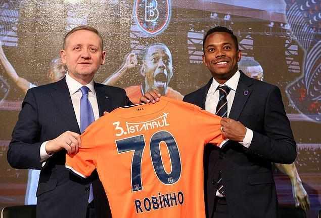Robinho ➡️ Başakşehir  - [2 milyon euro]