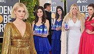 Celebrities Brought Out The Glitz But Fiji Water Girl Steals The Show On The Golden Globes!