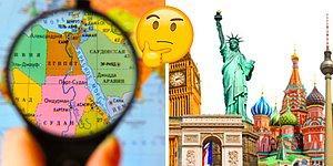 Если сможете пройти наш тест на знание мира, то смело ставьте себе пятёрку по географии