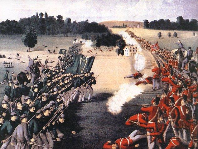 12. Pekiiiiii, tarihin en kısa savaşı sizce ne kadar sürmüş olabilir? Cevabı duyunca böyle savaş mı olur diyeceksinizdir muhtemelen. 1896 yılında İngiltere'yle Zanzibar arasında geçen tarihin en kısa savaşı yaklaşık 38 dakika 45 saniye sürmüştü.