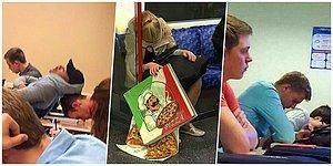 A War Against Sleep Is Never Won! 15 People Who Couldn't Stay Awake