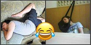 Когда сон сильнее: забавные фото спящих людей, которые заставят нервничать страдающих бессоницей