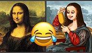 Что осталось за кадром: Прикольные рисунки о том, чего мы не могли видеть на знаменитых картинах