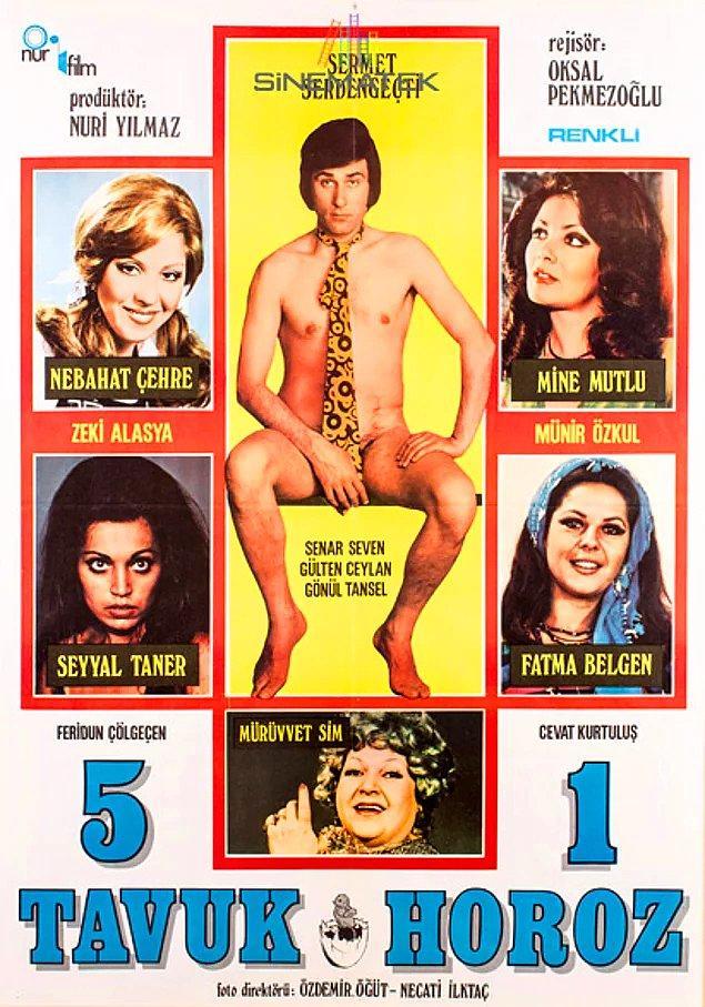 1. Beş Tavuk Bir Horoz (1974)