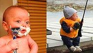 11 Photos About Premature Baby Doing Manly Things Will Make You Giggle!