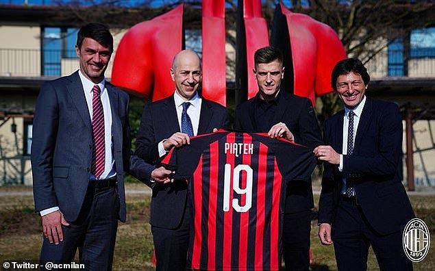 Piatek ➡️ Milan - [35 milyon euro]