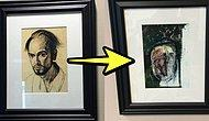 Artist With Alzheimer Draws His Self-Portrait For 5 Years Until He Forgets His Own Face!