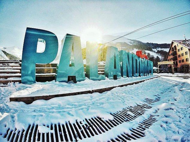7. Erzurum - Palandöken kayak merkezi