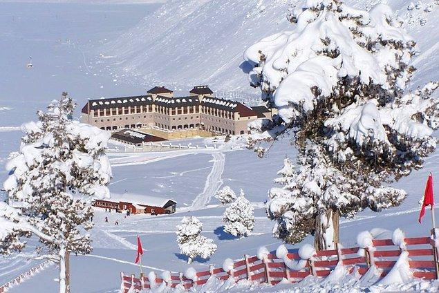15. Isparta - Davraz Kayak Merkezi