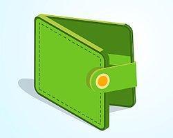 У вас кошелёк зелёного цвета