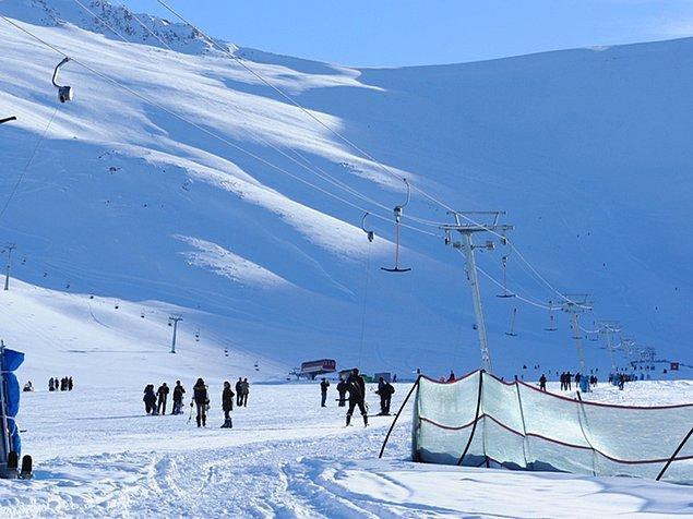 21. Van - Abalı Kayak Merkezi