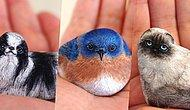 Japanese Artist Turns Stones Into Animals And They're Extremely Cute!