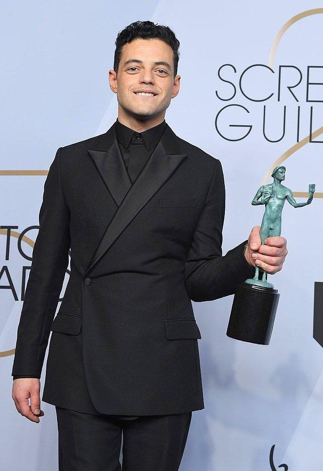 """En İyi Erkek Oyuncu - Film: Rami Malek, """"Bohemian Rhapsody"""""""
