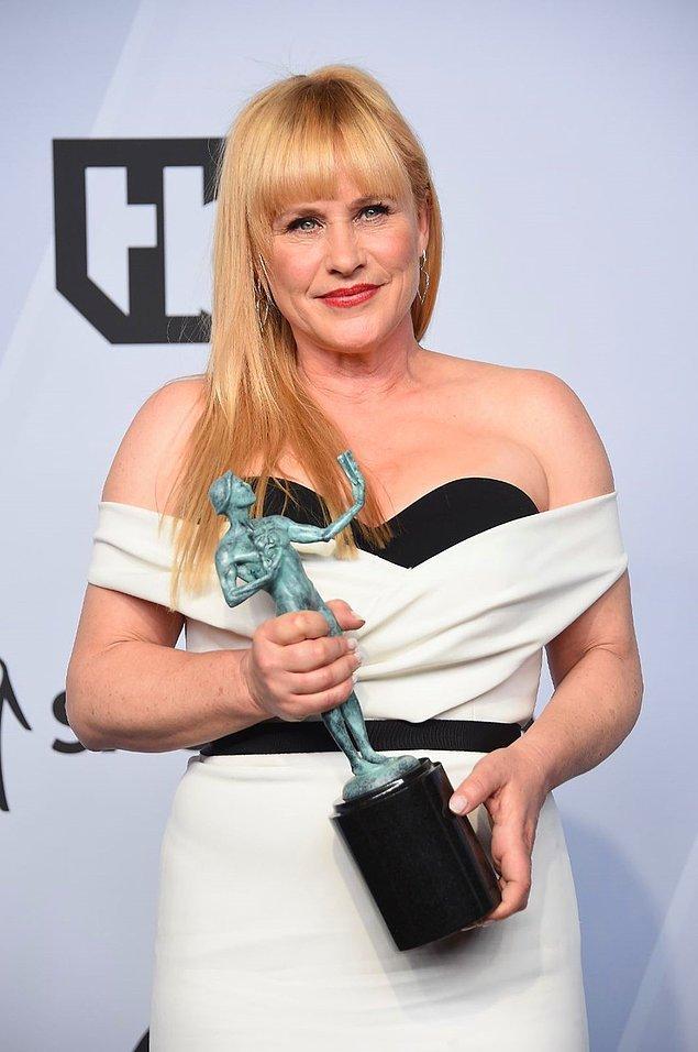 "En İyi Kadın Oyuncu (Mini Dizi veya TV Filmi): Patricia Arquette, ""Escape at Dannemora"""