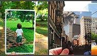 Фотографии, сделанные спустя годы на том же месте становятся очень популярными