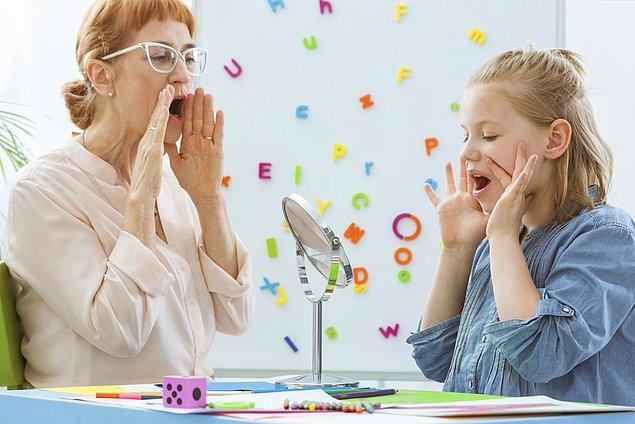 5. Dil ve konuşma terapisti
