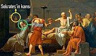 Sokrates'in Baldıran Zehrini İçip İntihar Etmeden Önceki Son Anını Tüm Trajikliğiyle Anlatan 'Sokrates'in Ölümü' Tablosu