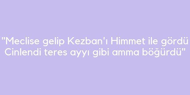 Galip Paşa, idari görevi nedeniyle uzun süre Kastamonu'da bulunduğu için şiirlerinin ana kahramanları Kastamonu delikanlısı Himmet ile genç Kezban'dır.