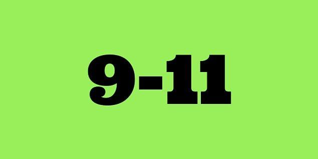 9-11 saat!