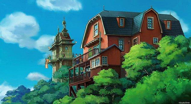 Parkın içinde halihazırda bir 'Komşum Totoro' evi replikası bulunuyor.