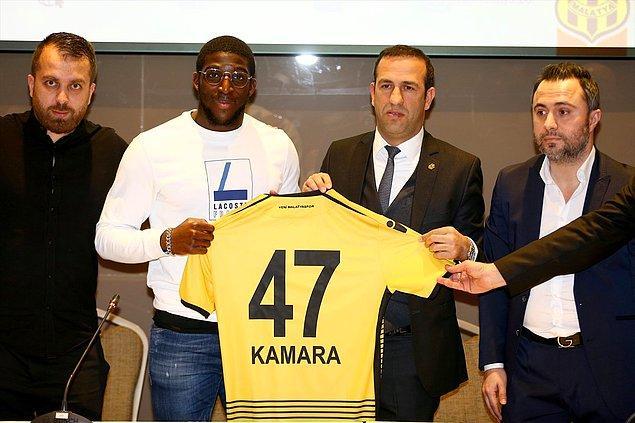 Aboubakar Kamara ➡️ Yeni Malatyaspor