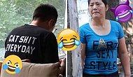 Фэшн из май профешн: Китайские модники, которые не подозревают, что они носят на себе